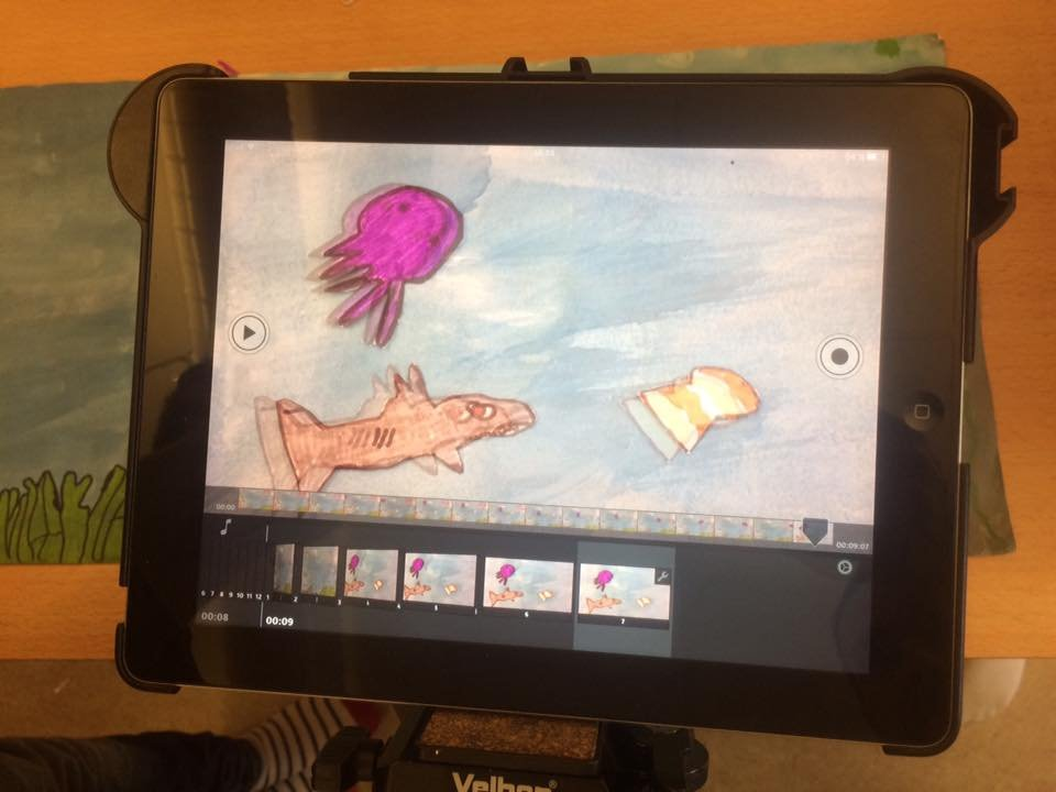 Stop Motion Animation med iPad